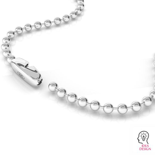 Ball clasps, sterling silver 925, BCC 01