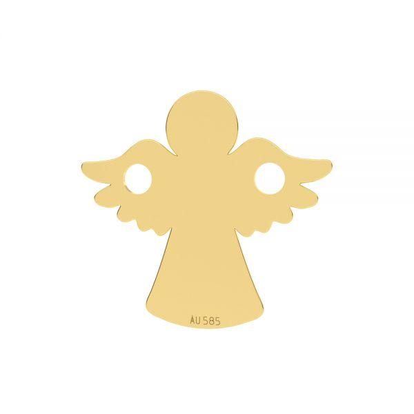 Angel pendant*gold 585*LKZ14K-50095 - 0,30 13x13 mm