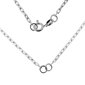 Necklace base, sterling silver 925, CHAIN 54 AD 70 41 cm