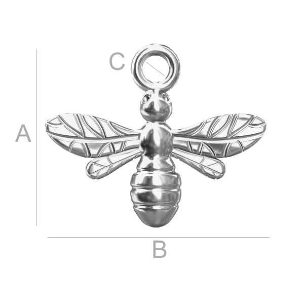 BEE PENDANT FOR CHARMS