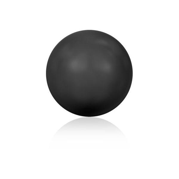 Swarovski black pearl