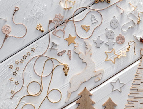 Jewellery for winter, Christmas and New Year's Eve