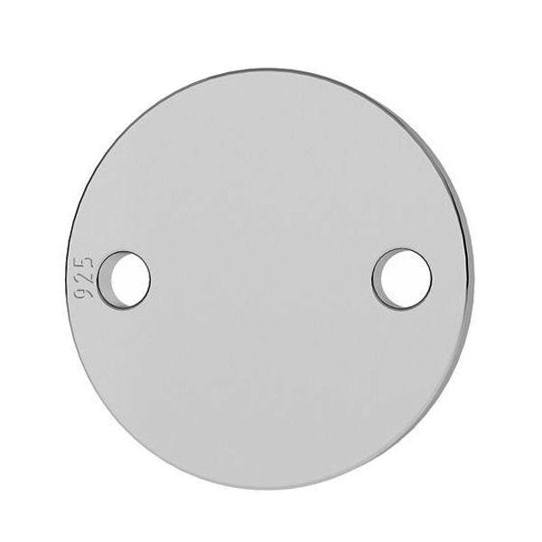 2 hole connector charm
