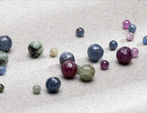 Gemstone beads for jewellery making